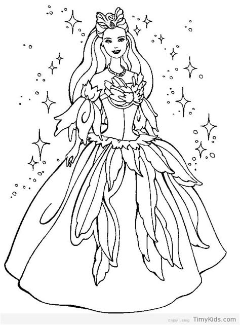barbie doll coloring pages timykids