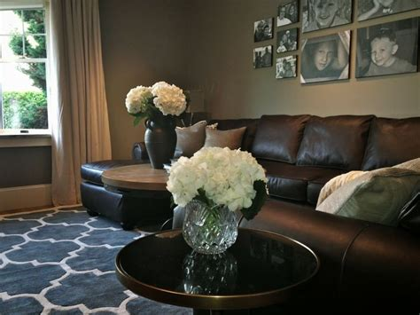decorating around a black leather couch how to decorate a living room with a black leather sofa