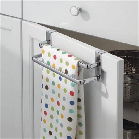 kitchen cabinet towel holder dish towel rack home trendy