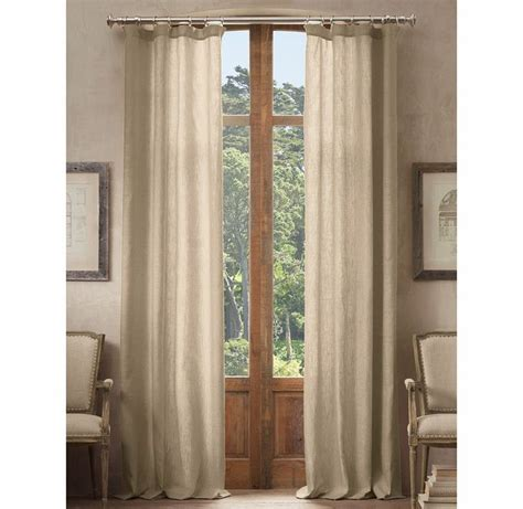 restoration hardware linen shower curtain belgian opaque linen drapery loft pinterest products
