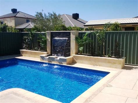 swimming pool feature   innovative water