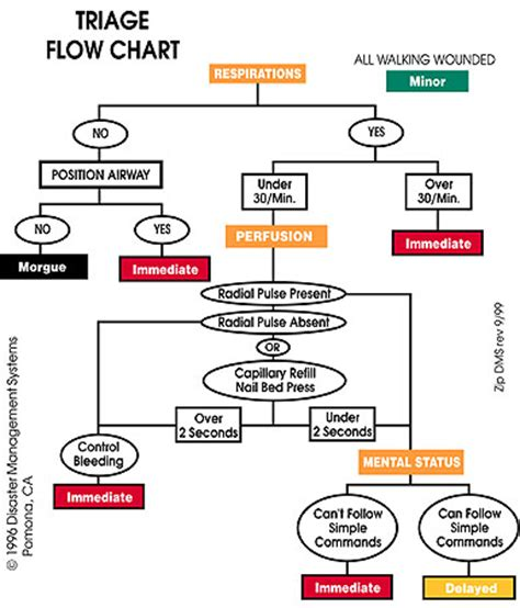 start triage flowchart triage flow images search