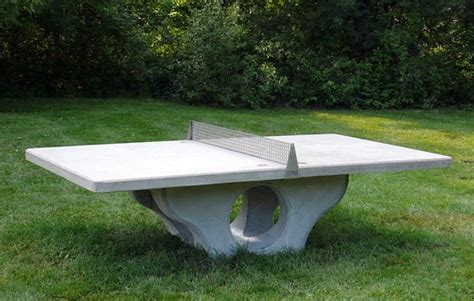 henge outdoor ping pong table cool stuff pinterest
