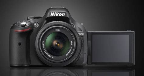 nikon d5200 slr nikon announces d5200 slr light and matter
