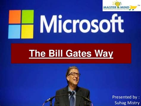 bill gates biography slideshare book the bill gates way written by dev dearlove