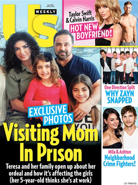 Us Weekly Goes Bald On This Weeks Cover by Teresa Giudice And Family Appear On Us Weekly Cover Open