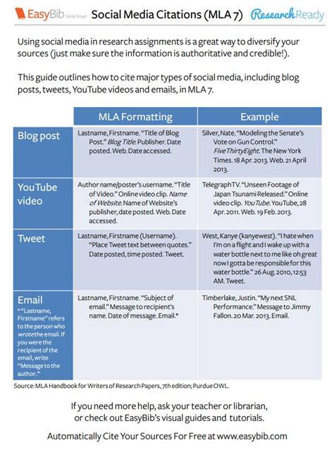 apa format handout download our social media citations handouts