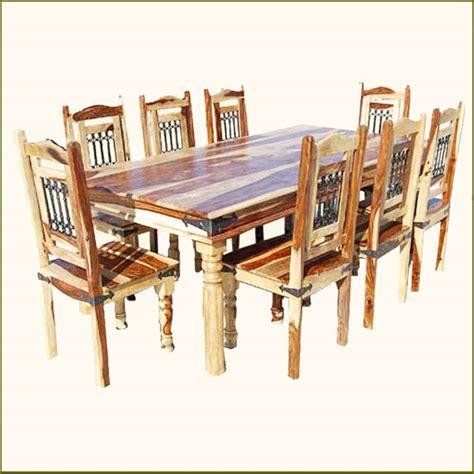 Rustic Dining Room Table Set   Marceladick.com
