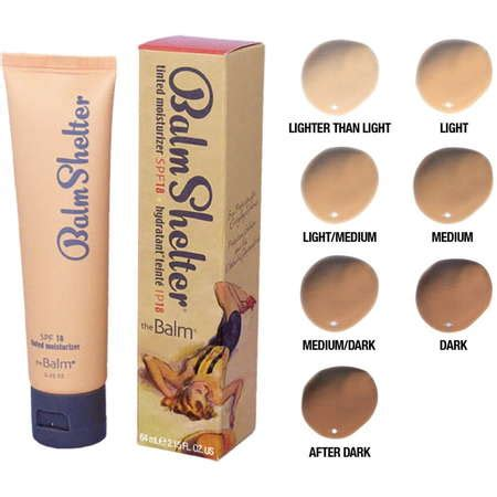 The Balm Shelter Tinted Moisturizerlight Thebalm Balmshelter Tinted Moisturizer Price In The