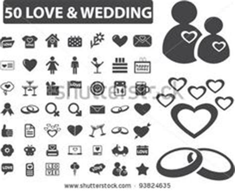 Wedding Font Icon by Free Vector Wedding Icons And Symbols Free Vectors