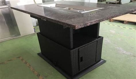 adjustable pit table adjustable rectangle pit table leisure industries