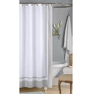 wamsutta shower curtains wamsutta 174 hotel shower curtain in grey bed bath beyond
