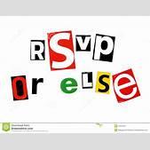 Rsvp Or Else Ro...