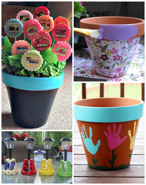flower pot gift ideas for s day crafty morning