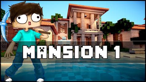 build a mansion minecraft mansion 1 youtube