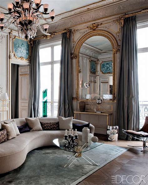 paris living room grand salon glamorous in paris erika brechtel