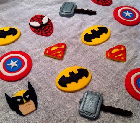 Cupcake Topper Batman Superman o jpg