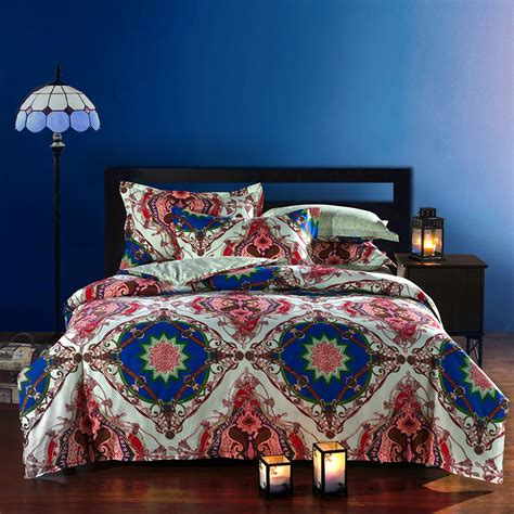 Moroccan Bed Sets Moroccan Ethnic Style Cotton Bedding Set Size Bedclothes Comforter Duvet Quilt Cover
