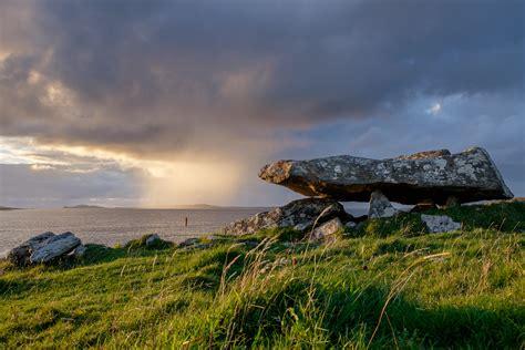fjord of killary summary file knockbrack megalithic tomb galway ireland jpg