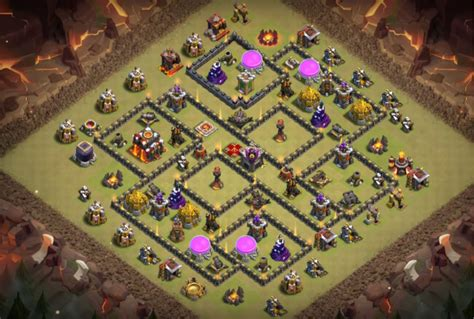 defensive war base for th10 the best war bases th10 new 2018 anti everything
