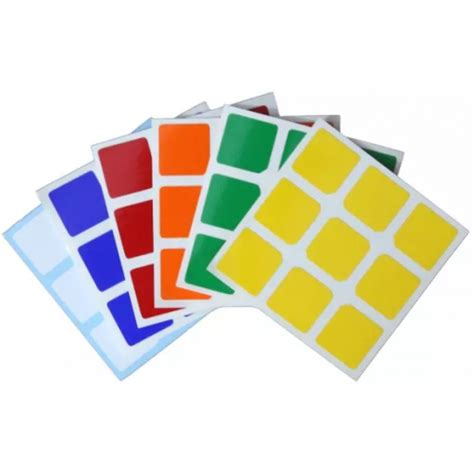 Stiker Rubik 2x2 Qiyi Moyu Yongjun Mjfs Jocubes stiker rubik 3x3