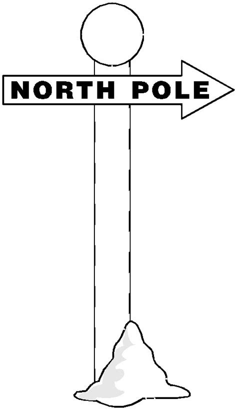 Sign Coloring Pages Beautiful Scenery Photography The Pole Coloring Pages