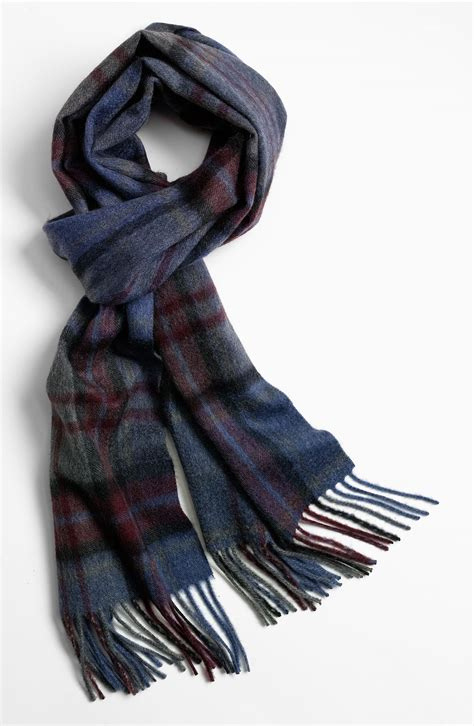 w nordstrom 174 scarf in blue for lyst