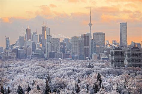 Phone Lookup Toronto Toronto Winter Sunset Photograph By Charline Xia