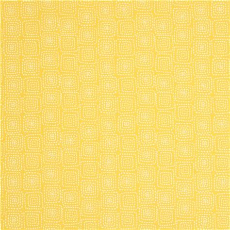 yellow pattern upholstery fabric yellow square pattern fabric by michael miller from the