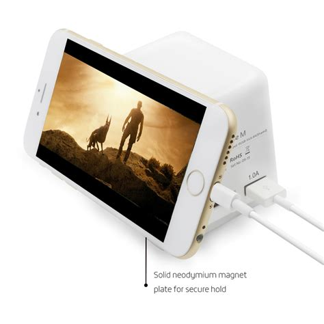 Jual Aukey 54w Qc2 0 Fast Rapid Usb Desktop Mobile Wall Charger 5 Port 2 eugizmo 6 usb 8 8a family size smart high capacity fast charger ac desk magnet charging station