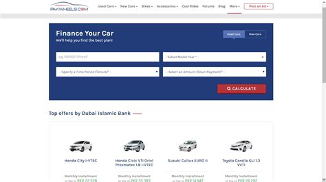 can i make a car payment with a credit card pakwheels car finance section can help you get the car of