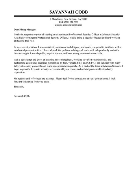 best cover letter examples livecareer