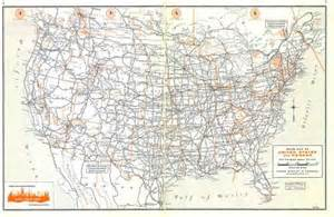 atlas map of us highways roadtrip 62 us highway systems present past and present