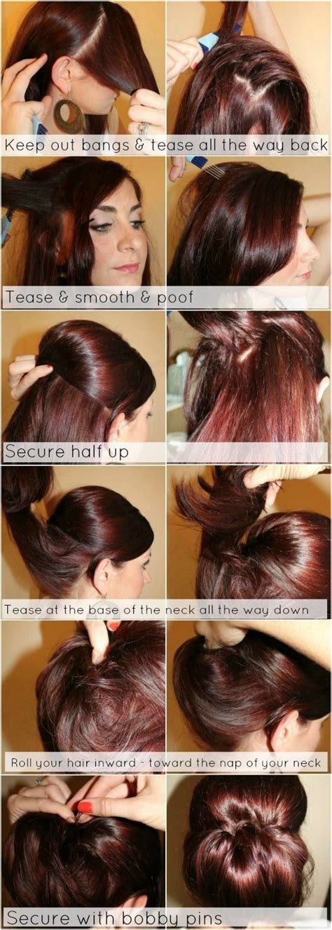 hairstyles for thin hair tutorial 12 trendy low bun updo hairstyles tutorials easy cute