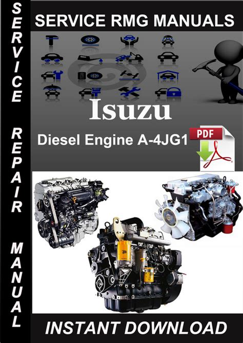 small engine repair manuals free download 1992 isuzu impulse electronic valve timing isuzu diesel engine a 4jg1 service repair manual download downloa
