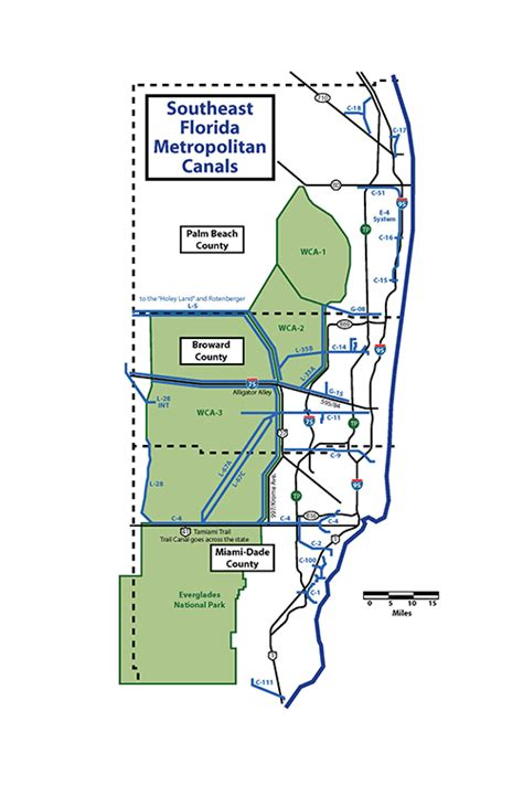 usf ta map alligator alley and tamiami trail midcurrent
