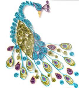 Peacock Decorations For Home tutoriel patrons quilling femme2decotv