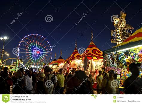 del mar fair reading certificates san diego county fair scene at night editorial photo