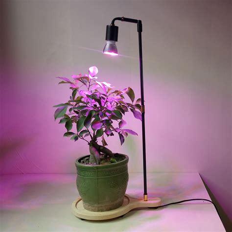 led lights for indoor plants spectrum led plant grow light stand desk l