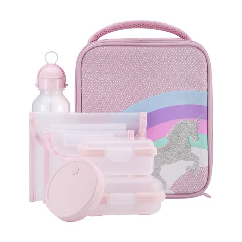 Lunch Keeper Set With Bag 7 unicorn lunch set kmart