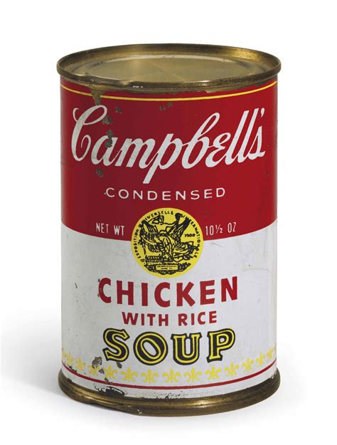 andy warhol soup cans andy warhol 1928 1987 cbell s soup can chicken