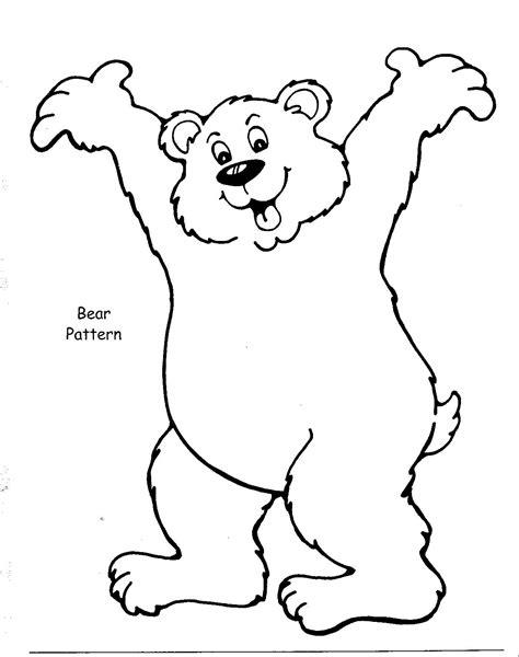 bear template printable new calendar template site