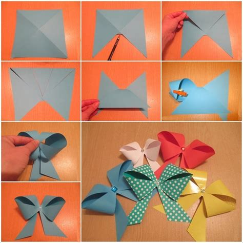 How To Make Simple Paper Crafts - how to make easy crafts with paper craftshady craftshady