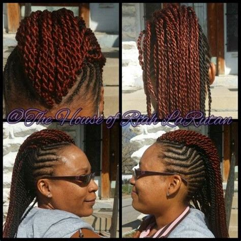 mohawk braid with senegalese twist 492 best the hairdo i do images on pinterest braid