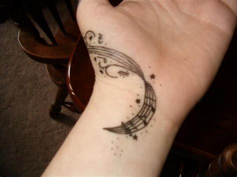 small music tattoos for girls 41 awesome notes tattoos on wrists