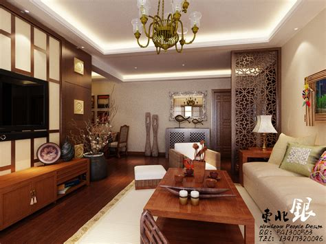 Home Design Asian Style Asian Style Living Room Design White Sofa Furniture