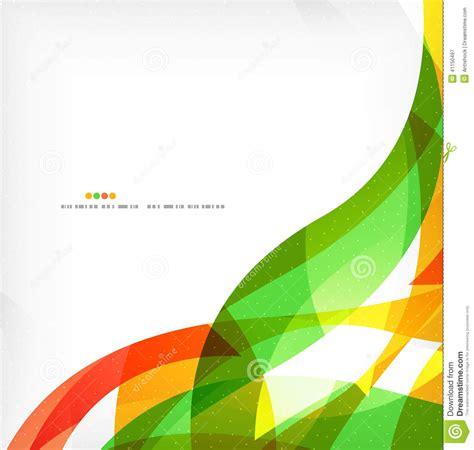 design background leaflet business wave corporate background stock vector image