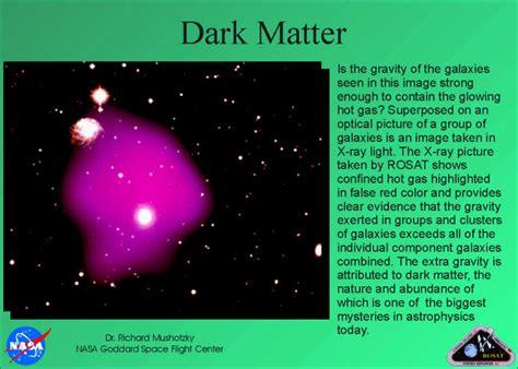 what is black matter rosat display matter