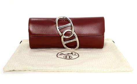 Clutch Bottega Line Brown hermes vintage box leather brown pochette clutch hermes