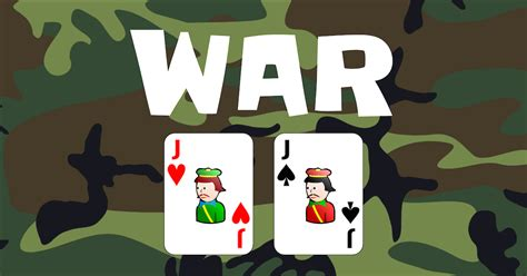 how to play war war card game play it online
